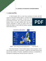 Ud Vi - Europa e Os Desafios Contemporâneos
