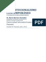 Constitucionalismo contemporaneo Introduccion Al Neoconstitucionalismo