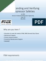 Understanding and Verifying Compressor Safeties