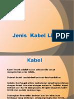 k3 Listrik Jenis Kabel Listrik 2016