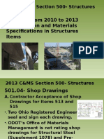 2013 CMS Section 500- Structures