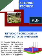 Estudio técnico desarrollo de un proyecto