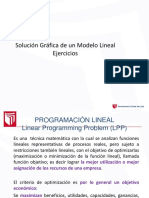 Solución Gráfica de un Modelo Lineal ejercicios