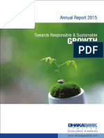 Dhaka Bank Annual Report 2015