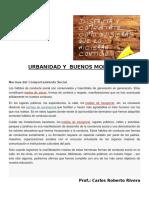 Urbanidad y Buenos Modales