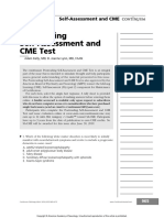 Postreading Self Assessment and CME Test.23