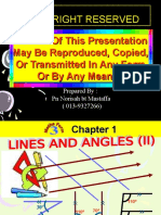 Chapter 1 Module Lines Angles i i