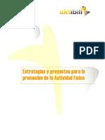 Estrategias Proyectos Promoción Actividad Fisica SIII