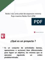 Redes Ruta Corta Arbol de Expansion Minima Flujo Maximo Redes Pert-CPM Cont