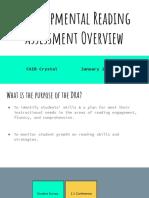 developmental reading assessment overview