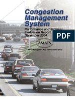 CMS Performance and Strategy Evaluation Report AMATS