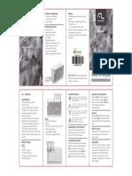 Multilaser SP176 Manual