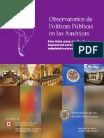 ObservatoriosDePoliticasPublicas s
