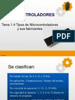 1.4 Microcontroladores