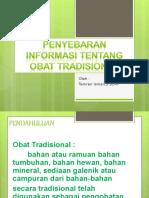 3. Obat Tradional