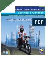 Libro de ANETA - conduccion de motos