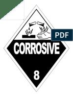 8 Corrosive