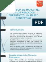 Estrategia de Marketing en Los Mercados Emergentes