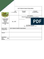 SOP Pendaftaran