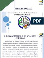 Atuação do farmacêutico - Análises Clínicas
