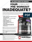 FBX 2.0 - WHY IS YOUR STIMULANT-LOADED PRE WORKOUT INADEQUATE?