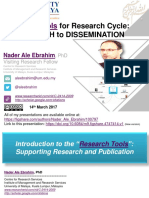 Research Tools for Research Cycle