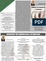 Lisboa Workshop Em Criminologia e Vitimologia