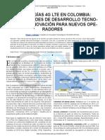 4g Lte en Colombia Revista