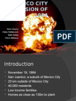 The Mexico City Explosion of 1984 Final