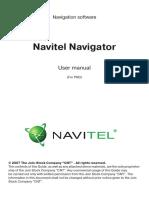 Manual NavitelNavigator7 PDA ENG