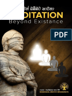 Meditation Beyond the Exist
