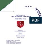 INFORME  S-P-T   MECANICA DE SUELOS 2