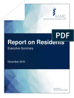 Report on Residents Executive Summary