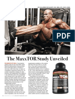 The MaxxTOR Study Unveiled