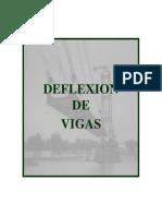 Deflexion de Vigas