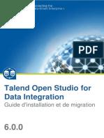 TalendOpenStudio DI IG 6.0.0 FR