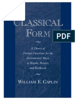 Classical Form Caplin