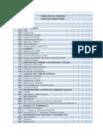 Catalogo de Cuentas Industrial