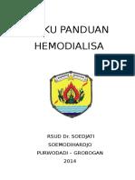 pedoman pelayanan hemodialisa