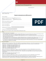 Nri Savings Account Downgrade Form