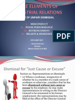 Law of Unfair Dismissal