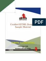 Certified HTML