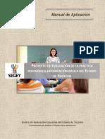 Evaluacion de La Practica Pedagogica_Manual de Aplicacion