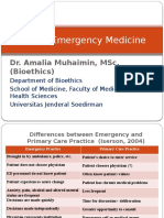 Ethics in Emergency Medicine3 - 24 May 2013