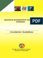 Handbook MTI 2013