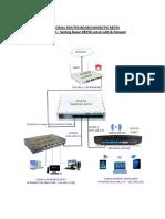 Setting Dasar Routerboard Mikrotik RB750 Untuk LAN & Multi Hotspot (Bagian 1)