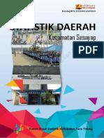 Statistik Daerah Kecamatan Sesayap Dalam Angka 2015