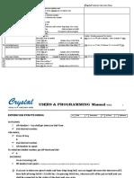 CRYSTAL User manual VDP