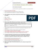 CCNA 4 Chapter 8 v5.0 Exam Answers 2015 100