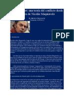 El Meteco Diletante-Claude Lefort-una Teoría Del Conflicto Desde La Obra de Nicolás Maquiavelo
